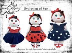 Evolution of Sue … | Miss Hook – Wilde Häkelei