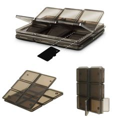 Foldable 12 Slot SIM/Micro SD/TF Memory Card Storage Case Box Holder Protector  Worldwide delivery. Original best quality product for 70% of it's real price. Buying this product is extra profitable, because we have good production source. 1 day products dispatch from warehouse. Fast &...