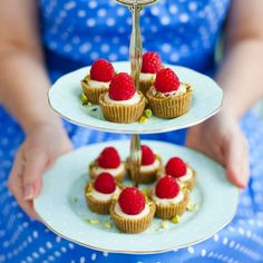 Teeny white chocolate, pistachio and raspberry tarts are elegant and really delightful