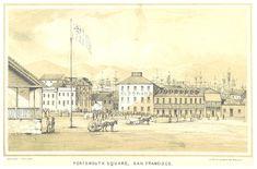 Portsmouth Square, San Francisco, 18050