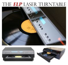 ELP Laser Turntable: Plays Vinyl Records without a Needle. Next time I have a spare 12k to burn. :)