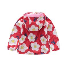 Waist-back Girls'Flannel Charge Clothes Windshield Waterproof And Warm Outerwear Autumn Kids' Clothes