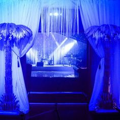 Great Gatsby themed marquee to host the wedding reception