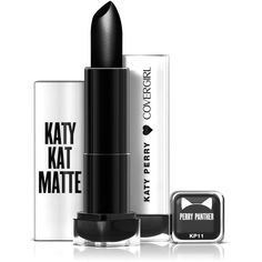 COVERGIRL Katy Kat Matte Lipstick Perry Panther, .12 oz created by... (£4.69) ❤ liked on Polyvore featuring beauty products, makeup, lip makeup and lipstick