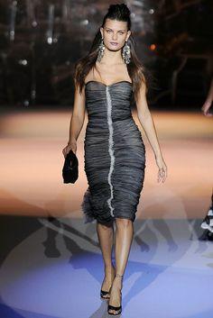 Zac Posen Spring 2009 Ready-to-Wear Fashion Show - Isabeli Fontana