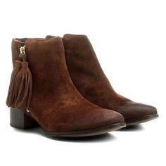 10e86b3bf1 Bota Chelsea Boots Escrete Lançamento Em couro Café - Marca Escrete ...