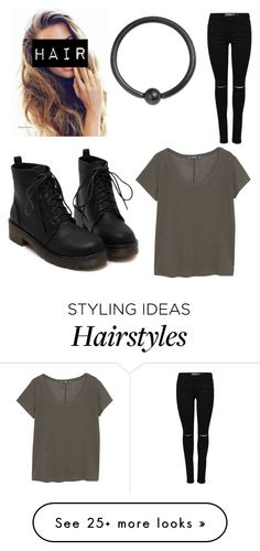 """Luke Hemmings Inspired JET BLACK HEART Outfit"" by fashionoftv-05 on Polyvore featuring MANGO"