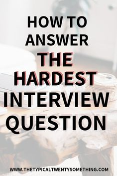 """How to answer """"why should we hire you"""" during a professional job interview. The formula and how exactly you can answer this hard interview question. Professional Interview Questions, Best Interview Answers, Job Interview Tips, Job Interviews, Career Quotes, Career Advice, Business Quotes, Job Career, Career Planning"""