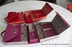 magnifique bureau portable ou boite à couture : magnifique