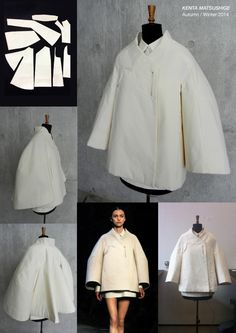 Kenta Matsushige, CSM, Innovative Pattern Cutting