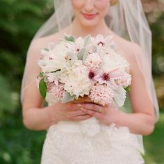 blush amaryllis bouquet.  Oh, so pretty. luv it :)  #amaryllis #bloem #flower