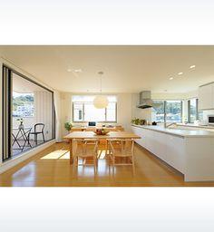 温かみのある北欧家具、シンプルで飽きのこない上質な空間 | ヘーベルハウス | 実例・くらし方・商品