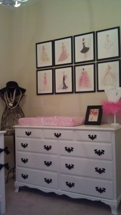 Low budget Barbie Vintage Nursery