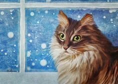 """""""Snow Day for Cuddles"""" by Sunny Williams"""