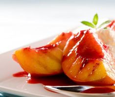 Grilled Glazed Peaches - Diabetic Connect