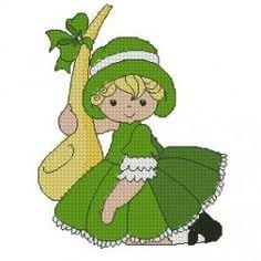 St Patrick Sunbonnet Girls