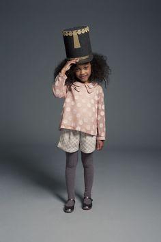 Long Sleeve Polkadot Blouse // Angelo #Kids #fashion