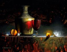 Boiling Onion by David Cheifetz Oil ~ 11 x 14