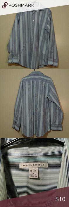 Men's button Banana Republic shirt No defects Banana Republic Shirts
