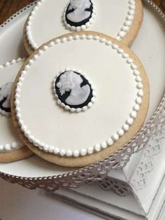 Brocaded Bespoke Biscuits - SweetAmbs Owner Amber Spiegel Makes Intricate Victorian-Inspired Sweets