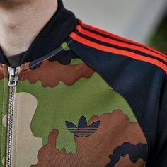 97c25d1abcb4 adidasOriginals Camo Stripe Track Top Premium Brands