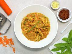 Ungarsk gulasj | Oppskrift - MatPrat Indian Food Recipes, Healthy Recipes, Ethnic Recipes, Healthy Food, Frisk, Eating Well, Thai Red Curry, Yummy Treats, Risotto