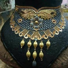 Turkish Jewelry, Indian Jewelry, Jewellery Sketches, Gold Set, Necklace Designs, Beautiful Necklaces, Necklace Set, Chic, Fashion Jewelry