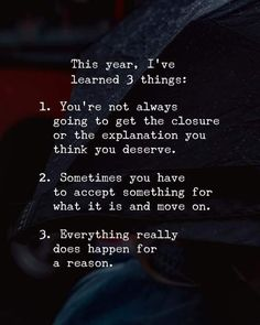 Quotes 'nd Notes - This year Ive learned 3 things. - Quotes 'nd Notes - This year Ive learned 3 things. Wisdom Quotes, Words Quotes, Quotes To Live By, Sayings, Know Your Worth Quotes, Peace Of Mind Quotes, Quotes About New Year, Year Quotes, Family Quotes