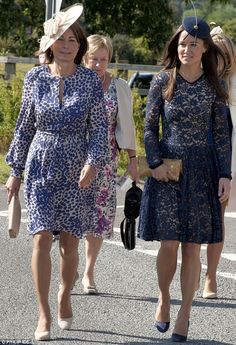 Carole and Pippa Middleton