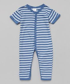 Another great find on #zulily! Periwinkle Stripe Playsuit #zulilyfinds