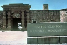 Learn About America's First Official Immigration Center: Castle Clinton National Monument, Manhattan, NY