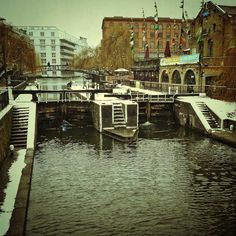 Chilling in Camden Town, London