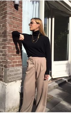 Fall Outfits, Wool, Pants, Fashion, Trouser Pants, Moda, Autumn Outfits, Fashion Styles, Women's Pants