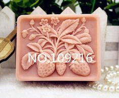 New Product! Soap Molds, Silicone Molds, Soap Making, New Product, Strawberries, Hand Carved, Carving, Easy, Handmade