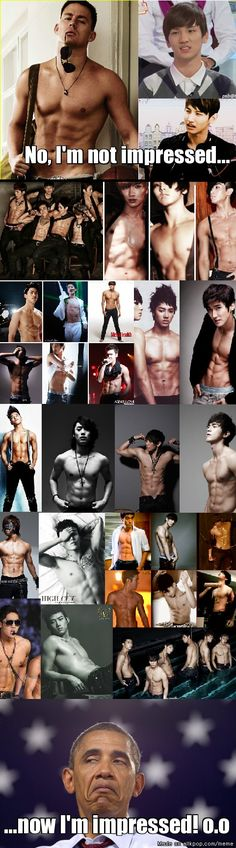 Mmmm Kpop abs.... I have to admit, I've seen some mind blowing abs thanks to Kpop XD