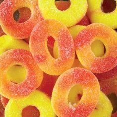 Ferrara Pan Peach Grooos 5 lb