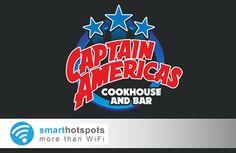 Free Social WiFi in Captain Americas Dublin, thanks to smarthotspots Marketing Opportunities, Customer Engagement, British Isles, Dublin, Wifi, Thankful, Paris, Free, Travel