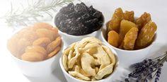 Trockenfrüchte:  Gesunder Snack  für zwischendurch