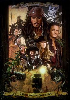 Pirates of the Caribbean by amiramz Cool Movie Fan Art to Keep You ...