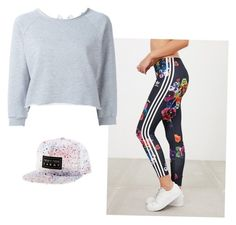 """""""Lazy But Polished"""" by breannabeltran on Polyvore featuring adidas and Gaëlle Bonheur"""