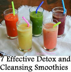 7 Effective Detox and Cleansing Smoothies ~ MediMiss