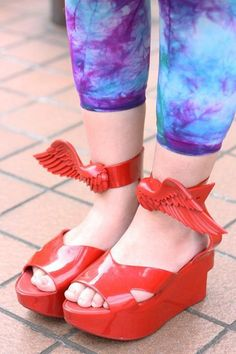 Winged Shoes! <3