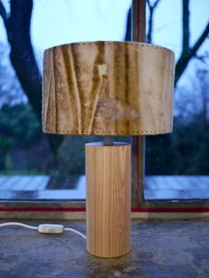 Felt Lamp / wood