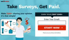 Win money by take a sort survey. This is the esay waya to earn money. Online Surveys That Pay, Take Surveys, Online Earning, Earn Money Online, Online Marketing Strategies, E-mail Marketing, Make Money From Home, Way To Make Money, How To Make