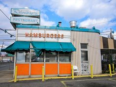 Rooney's Hamburgers - now closed.  Route 130 South Collingswood, NJ