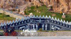 پارک آبشار _مهدی شهر_استان سمنان Entrance of  Abshar Park,Mehdy Shahr,Semnan,Iran
