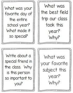 Journal prompts, printables, and fun activities to keep kids engaged at the end of the year!