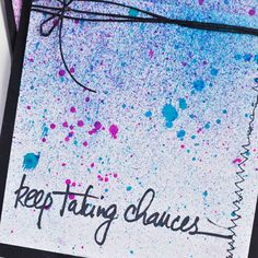 Create this simple cards with just a few spray inks and miscellaneous supplies. In just 10 minutes, you'll have handmade cards bursting with color.