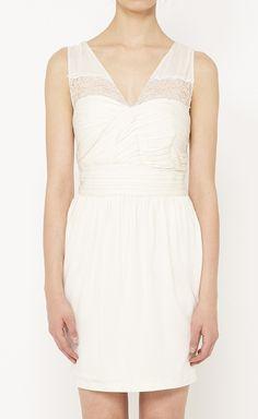 Robert Rodriguez White Dress
