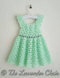 Gemstone Lace Dress - Free Crochet Pattern - The Lavender Chair 2